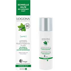 Logona Organic Clarifying Day & Night Mousturizing Fluid 30ml