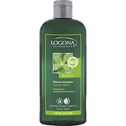 Logona Organic Shampoo (Balance, Lemon Balm) 250ml