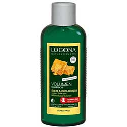Logona Organic Shampoo (For Volumised Hair, Honey & Beer) 250ml