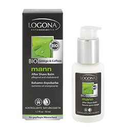 Logona Organic Man Aftershave (Ginkgo & Caffeine) 100ml