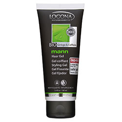 Logona Organic Man Hair Styling Gel (Ginkgo & Caffeine) 100ml