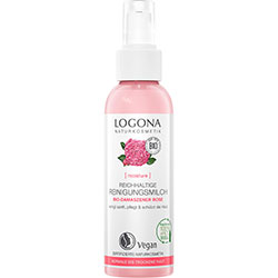 Logona Organic Rose & Kalpariane Cleansing Milk 125ml