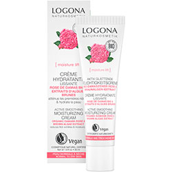 Logona Organic Active Smoothig Day Cream (Rose & Kalpariane, Dry Skin) 30ml