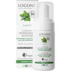 Logona Organic Mint & Salicylic Acid Cleansing Foam 100ml