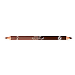 Logona Organic Double Eyeliner Pencil (01 Coffee)