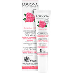 Logona Organic Active Smooting Eye Cream (Rose & Kalpariane, Dry Skin) 15ml
