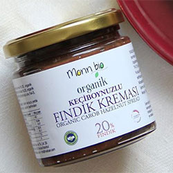 Monn Bio Organic Carob Hazelnut Spread 220g