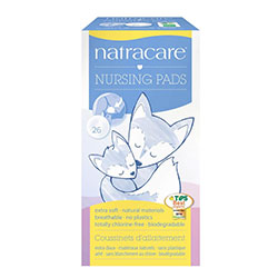 Natracare Organic Nursing Pads 26 Pcs