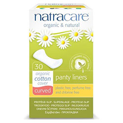 Natracare Organic Pads (Curved Liners) 30 Pcs