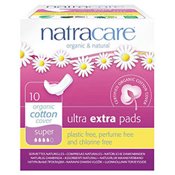 Natracare Organic Pads (Ultra Extra, Super) 10 Pcs