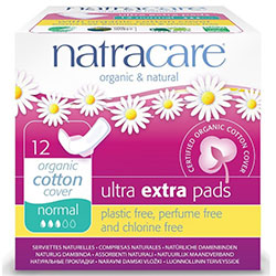 Natracare Organic Pads (Ultra Extra, Normal) 12 Pcs