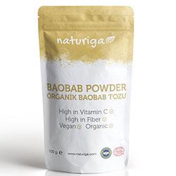 Naturiga Organic Baobab Powder 100g