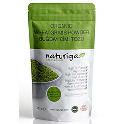 Naturiga Organic Wheat Grass Powder
