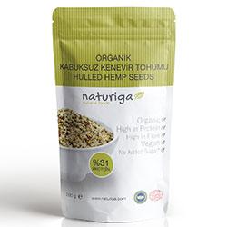 Naturiga Organic Hulled Hemp Seeds 200g