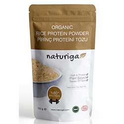 Naturiga Organic Rice Protein Powder 100g