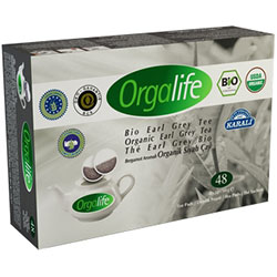 Karali Orgalife Earl Grey Black Tea (48 Tea Bag For Pot)