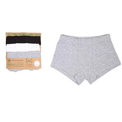 OrganicKid Panties (3 Pcs) (Boy, 2 Age)