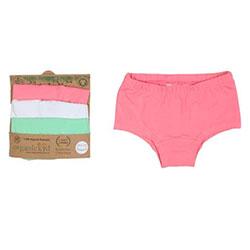 OrganicKid Panties (3 Pcs) (Girl, 5 Age)