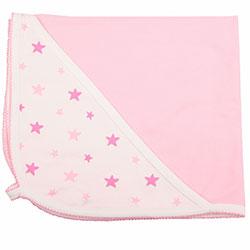 OrganicKid Organic Blanket (Pink Star)