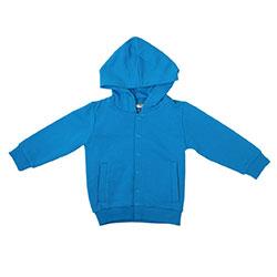 OrganicKid Organic Sweetshirt (Blue, 6 Age)