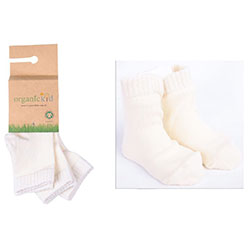 OrganicKid Organic Sock (3 Pcs, Neutral - Boy, 6-8 Years)