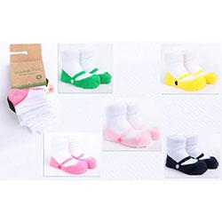 OrganicKid Organic Sock (5 Pcs, Ballerina, 0-6 Months)