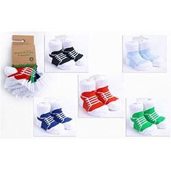 OrganicKid Organic Sock (5 Pcs, Sportive, 6-12 Months)