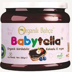 Organik Bahçe Organic Cacao Spread(Gluten Free) 350g