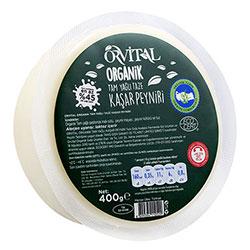 Orvital Organic Kashar Cheese 400g