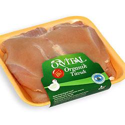 Orvital Organic Chicken Steak (KG)