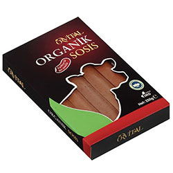 Orvital Organic Beef Sausage 250g