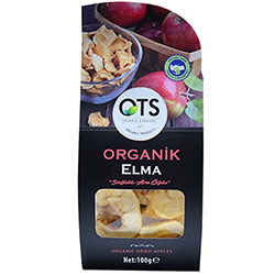 OTS Organic Dried Apple 100g