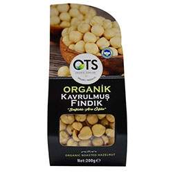 OTS Organic Roasted Hazelnut 200g