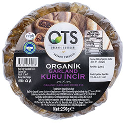 OTS Organic Dried Fig 250g