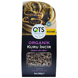 OTS Organic Dried Fig (Sliced) 200g
