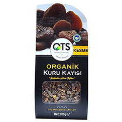 OTS Organic Dried Apricot (Sliced) 200g