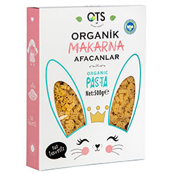 OTS Organic Pasta Afacanlar (for Children with Animal Shapes) 500g