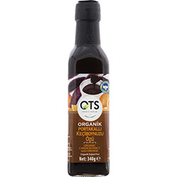OTS Organic Carob Syrup (With Orange, Cold Press) 340g