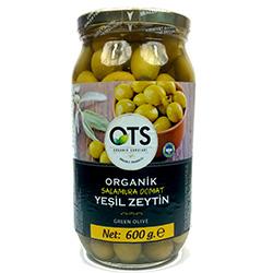 OTS Organic Green Olive 600g