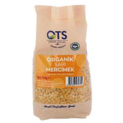 OTS Organic Yellow Lentil 750g