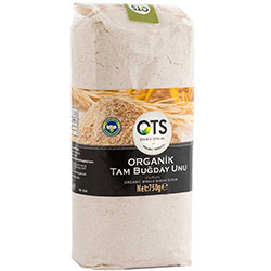 OTS Organic Whole Wheat Flour 750g