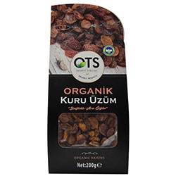 OTS Organic Dried Grape 200g