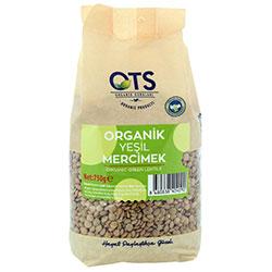 OTS Organic Green Lentils 750g