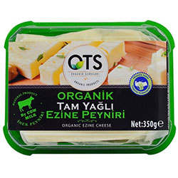 OTS Organic White Cheese 350g
