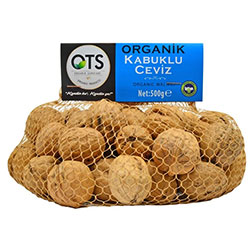 OTS Organic Unshelled Walnut 500g