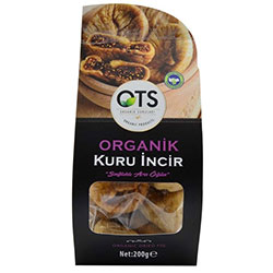 OTS Organic Dried Fig 200g