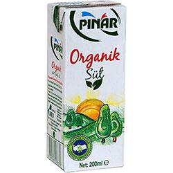 Pınar Organic Milk 200ml