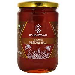 Şahbaz Çaylı Organic Chestnut Flower Honey 850g