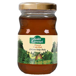 Saklı Cennet Organic Pine Honey 480g