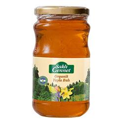Saklı Cennet Organic Flower Honey 480g